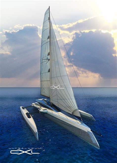 Trimaran Yacht Builders by Halle Discuss New Build Sailing Yachts