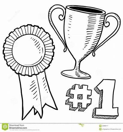 Winner Sketch Awards Premi Doodle Trophy Winnaar