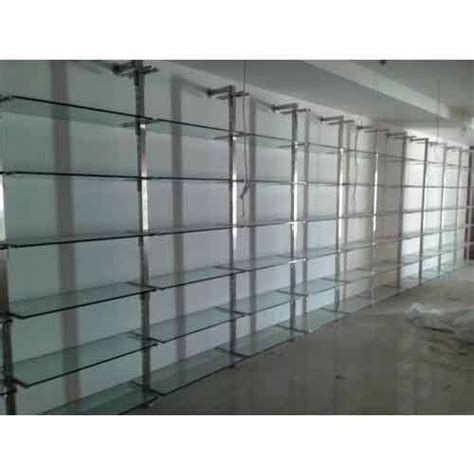 Glass Rack For Shop by Transparent Shop Glass Rack Rs 150 Square