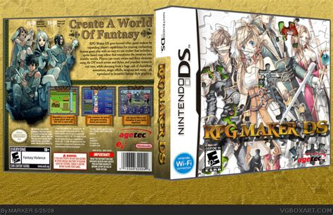 Alright, this tutorial will go over ever step that is recommended for installing ds game maker. RPG Maker DS Nintendo DS Box Art Cover by MARKER