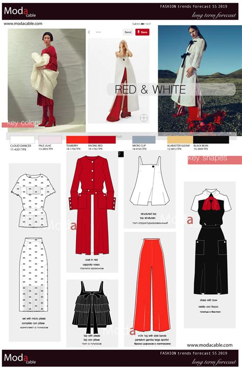 Ss 2019 Trend Red & White Modacable