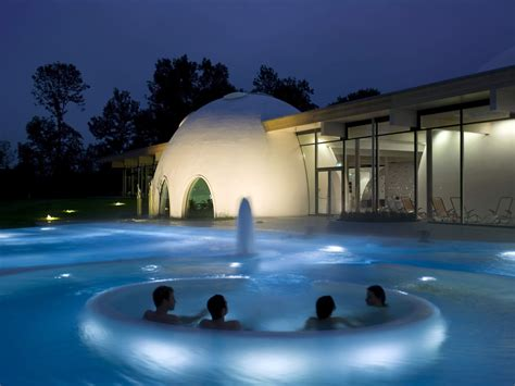 The Spa Complex In Germany by Behnisch Architekten Thermal Spa Bad Aibling
