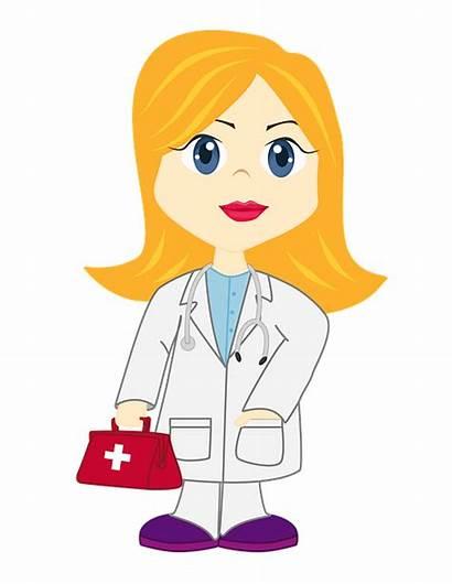 Dr Doctor Illustration Nice Blonde Pixabay
