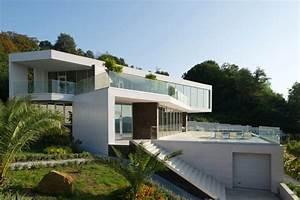 Pure White Contemporary House By Alexandra Fedorova  Russia