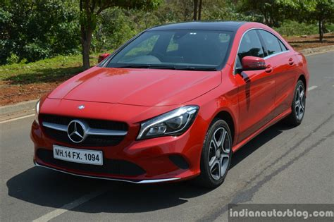 Ltd, lloyds centre point, 1st floor, above tata motors showroom, unit no.11 & 12, 1096a appasaheb marathe marg, prabhadevi, mumbai400025, maharashtra, india. 2017 Mercedes CLA (facelift) front quarter Review