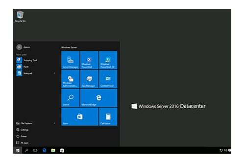 baixar iso windows server 2016