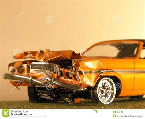 Plastic Model Of A Muscle Car Stock Photo