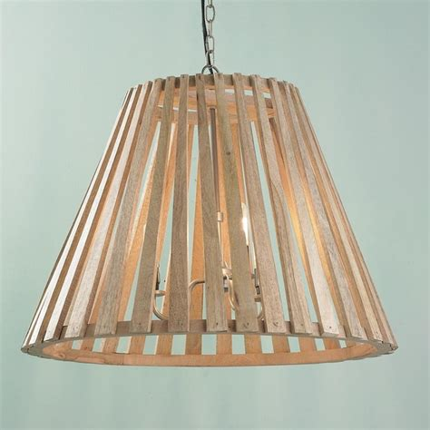 wooden stave wine barrel chandelier chandeliers by