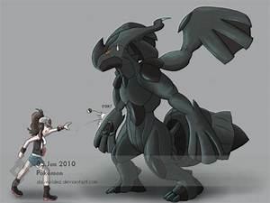 Real Life Pokemon Zekrom Images | Pokemon Images