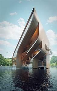 Futuristic Villa in Miami   Modern House Designs