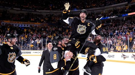 nhl   star game mvp john scott enjoying