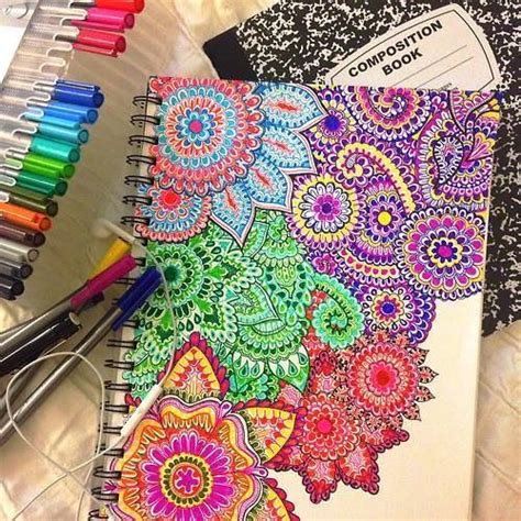 colorful things to draw 25 best ideas about colorful drawings on