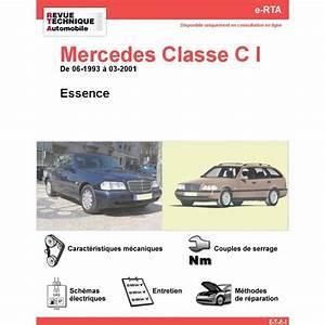 Mercedes Classe A 2001 : revue technique mercedes classe c i rta site officiel etai ~ Medecine-chirurgie-esthetiques.com Avis de Voitures