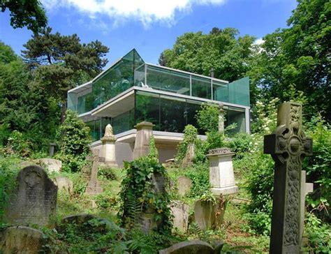 modern house     cemetery  eldrige smerin