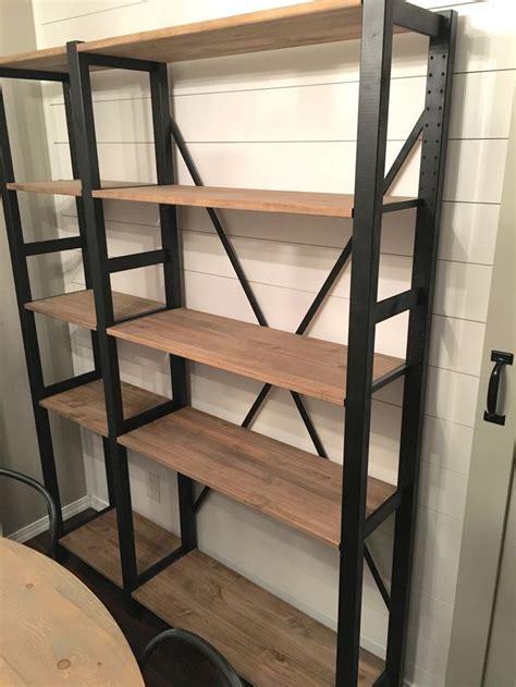 ikea shelving hack my divine home ikea ivar hack industrial shelving unit furniture builds pinterest
