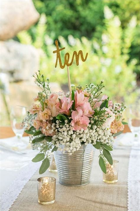 ideas  cheap table centerpieces  pinterest