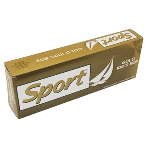 Sport Gold 100s Box  Budget Brands  Cigarettes Texas