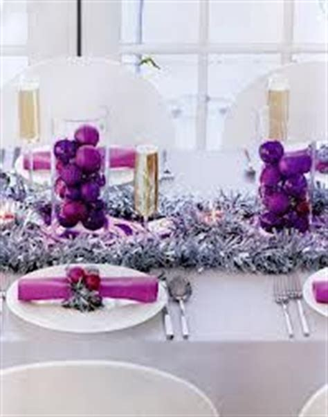 silver and purple christmas table decorations purple christmas on pinterest purple christmas purple christmas tree and silver christmas