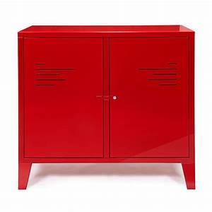 Table De Chevet Rouge : table de chevet original 3 commode 2 portes rouge en ukbix ~ Preciouscoupons.com Idées de Décoration