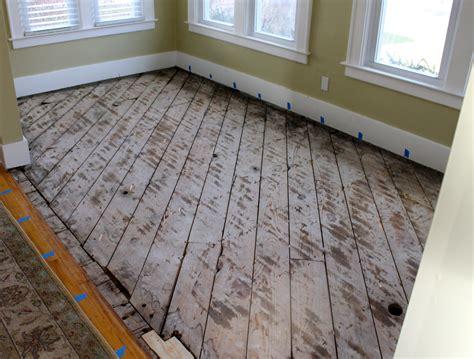 how to level wood subfloor for hardwood image gallery sub floor