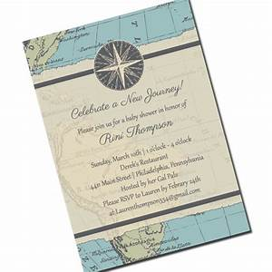 travel baby shower invitation map personalized by kreativees With free printable travel themed wedding invitations