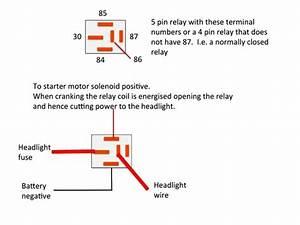 5 Post Relay Wiring Diagram Negative