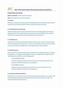 potspan case study template With case studies format template