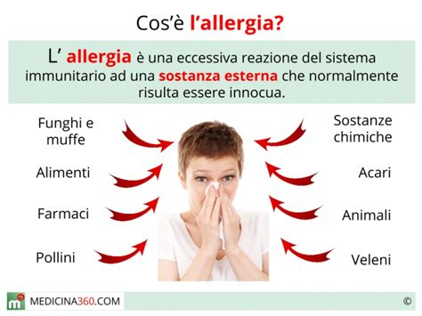 sintomi di allergia alimentare allergie tipi sintomi vaccino e rimedi