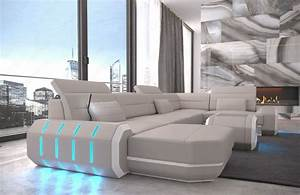 Sofa Dreams : sectional sofa leather roma u shape big corner sofa couch ~ A.2002-acura-tl-radio.info Haus und Dekorationen