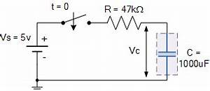 rc charging circuit tutorial rc time constant With rc circuits charging