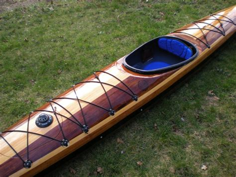 expedition single guillemot kayaks small wooden boat