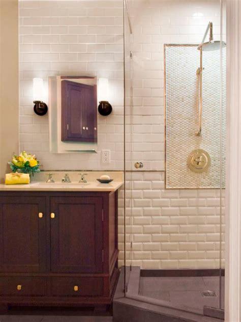 3 tub shower three quarter bathrooms hgtv