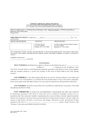 north carolina legal name change form 17 printable deed of trust form nc templates fillable
