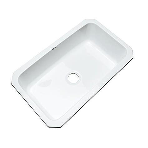 dekor kitchen sinks dekor sinks 58000um brookwood single bowl undermount cast 3145
