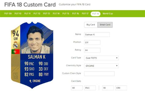 We did not find results for: 5 Free Online FIFA Card Maker to Create Custom FIFA Player Cards