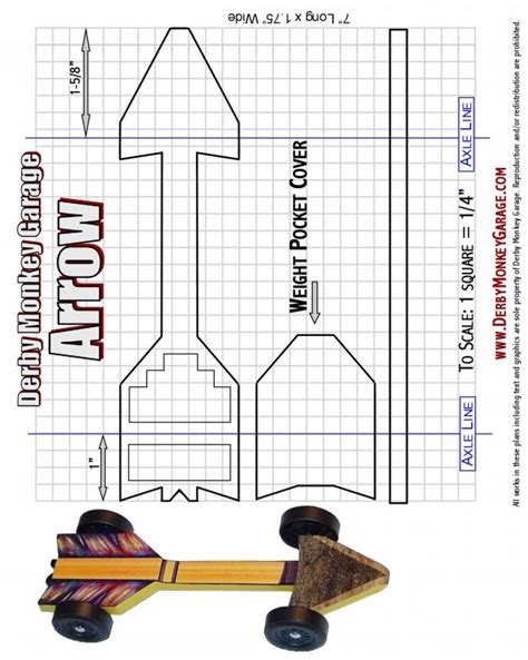 Pinewood Derby Template Free Pinewood Derby Car Templates Upcomingcarshq