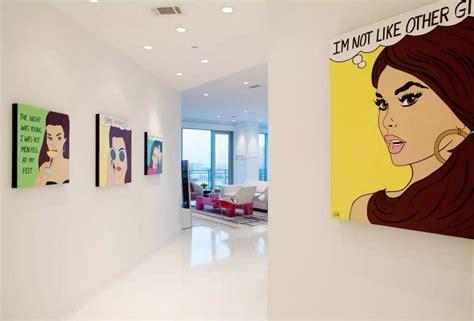 comic wall decor pop interior design style small design ideas