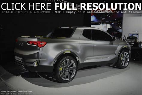 2019 Hyundai Santa Cruz Truck Pickup  2019 Best Suvs