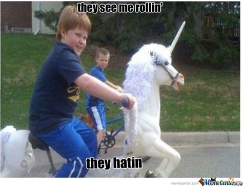 They See Me Rollin They Hatin Meme - they see me rollin they hatin by pff meme center