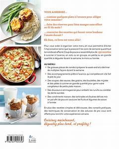 Cuisiner Pour La Semaine : livre cuisiner pour une semaine un mois un an ~ Dode.kayakingforconservation.com Idées de Décoration