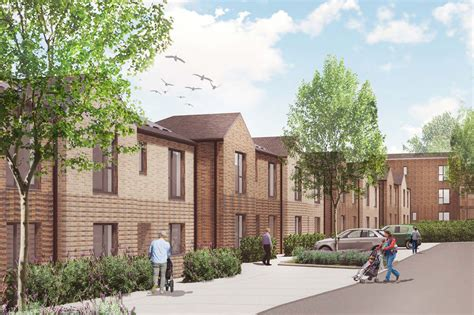 open door homes planning permission granted for sheaveshill court