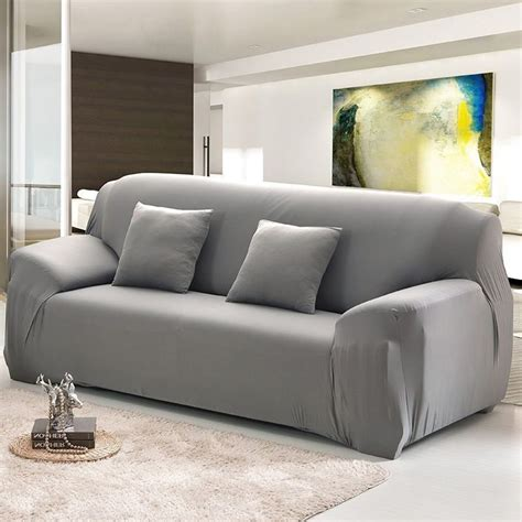 sofa covers couch slipcover stretch elastic fabric settee protector fit uk ebay