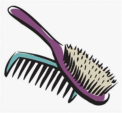 Clipart Brush Comb Hairbrush Transparent Clip Combing
