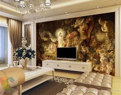 3d Hd Wallpapers Bedroom by Classical Painting Wall Murals Custom 3d Wallpaper