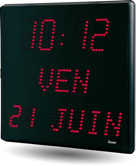 horloge murale led radio pilotee 28 images horlogerie industrielle horloge distribution