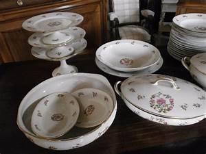 Service Vaisselle Porcelaine : estimation service de table porcelaine de limoges ~ Teatrodelosmanantiales.com Idées de Décoration