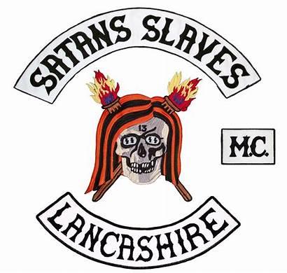 Slaves Mc Satans Satan Lancs Lancashire Petrol