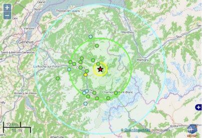 s 233 ismes 74 tremblement de terre de 3 7 entre cluses et