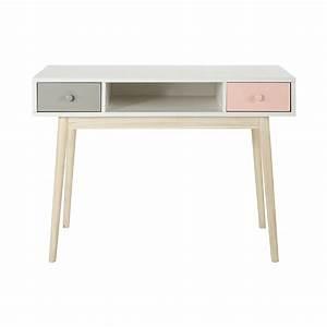 Maison Du Monde Bureau Fille : scrivania vintage bianca maisons du monde ~ Melissatoandfro.com Idées de Décoration