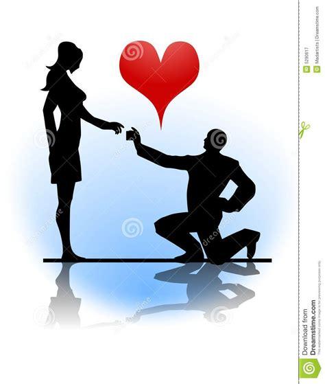 man proposing marriage  woman royalty  stock